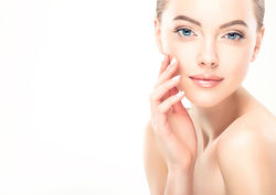stock-photo-beautiful-young-woman-with-clean-fresh-skin-touch-own-face-facial-treatment-cosmetology-563489728.jpg